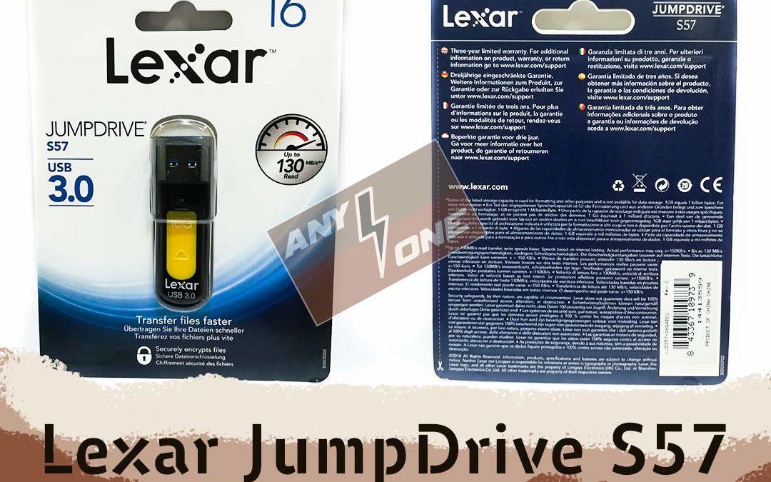 Обзор USB 3.0 Flash Drive Lexar JumpDrive S57